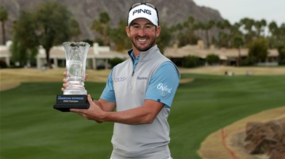 Landry blows six-shot lead but still wins Express by two