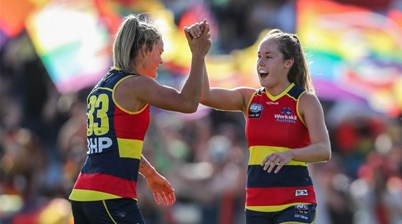 'Watch this every time a troll dampens AFLW'