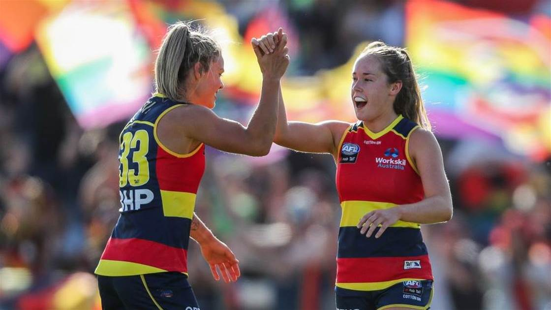 'Watch this every time a troll dampens AFLW': Best of Social Media Round 2