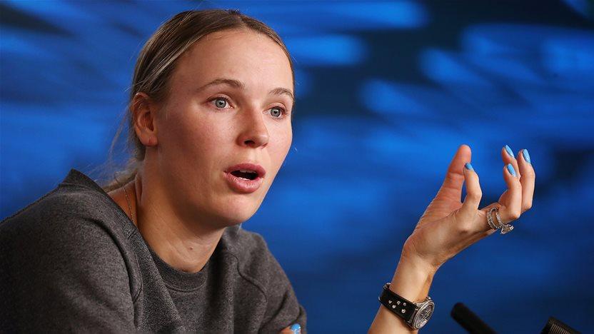 Caroline Wozniacki: 'Arthritis won't stop me'