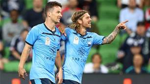 Sydney FC power past Victory