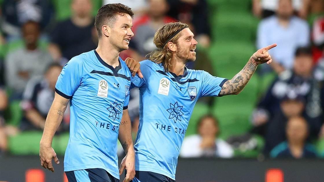 Sydney FC power past Victory