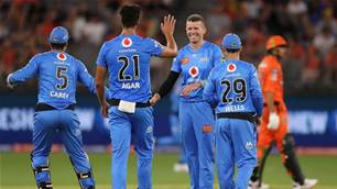 Strikers Too Good for Scorchers