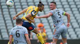 Roar extend unbeaten run over Mariners