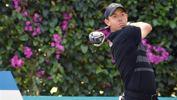 McIlroy leads by two shots at WGC-Mexico