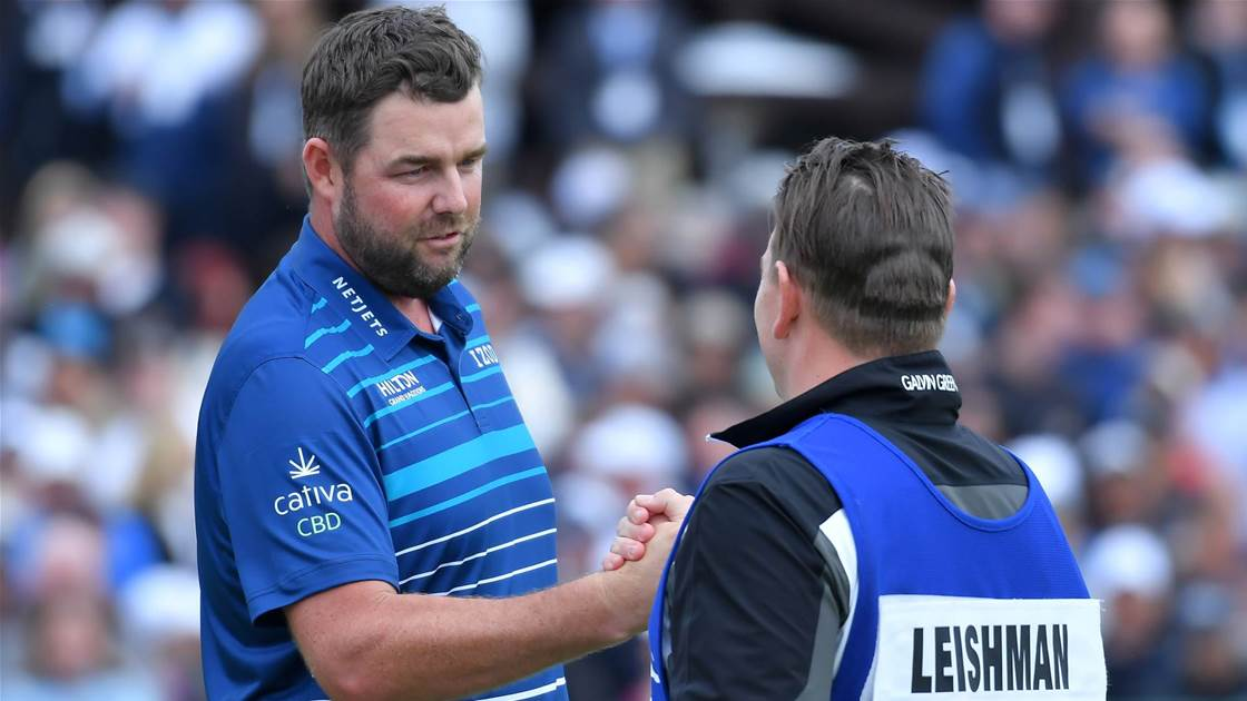 Leishman will crack world's top 10, says caddie Kelly