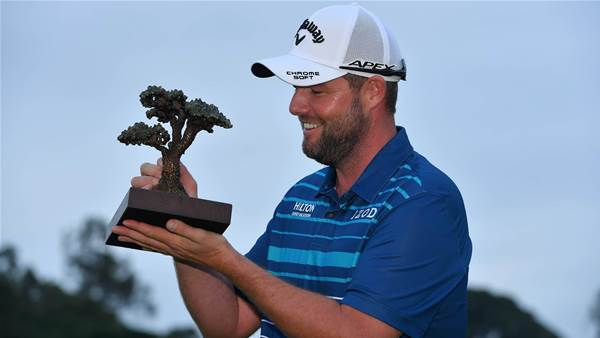 Leishman wins to complete unique Australia Day double
