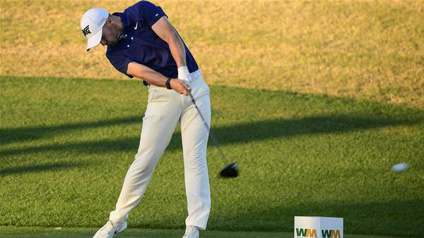 Clark leads in Phoenix after career-best score