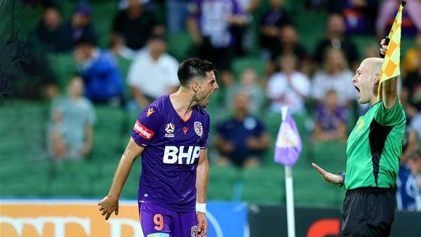 Refs not giving Fornaroli fair go: Popovic