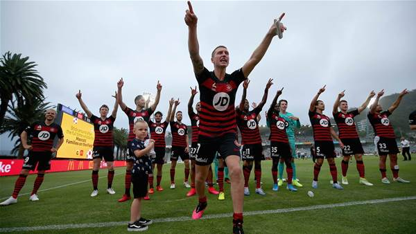 Wanderers score first win with new coach