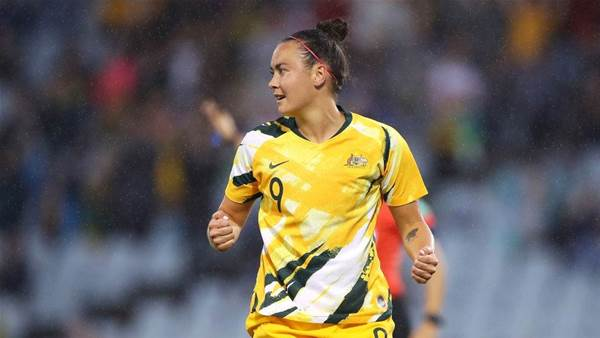 Matildas Foord nets three in Taiwan rout