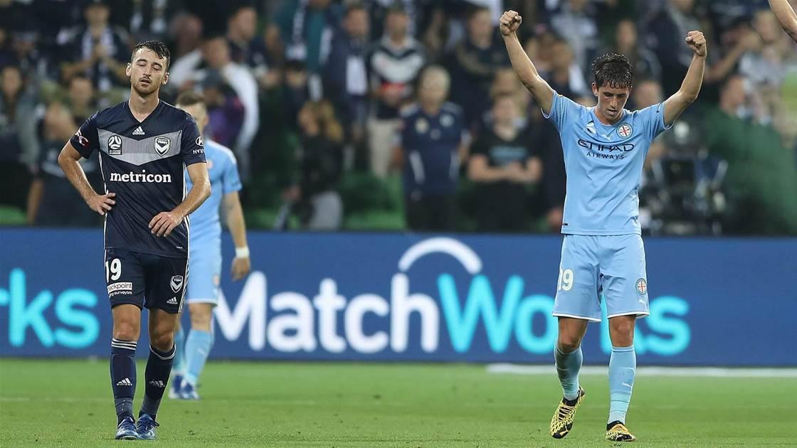 Berenguer delivers City A-League derby win
