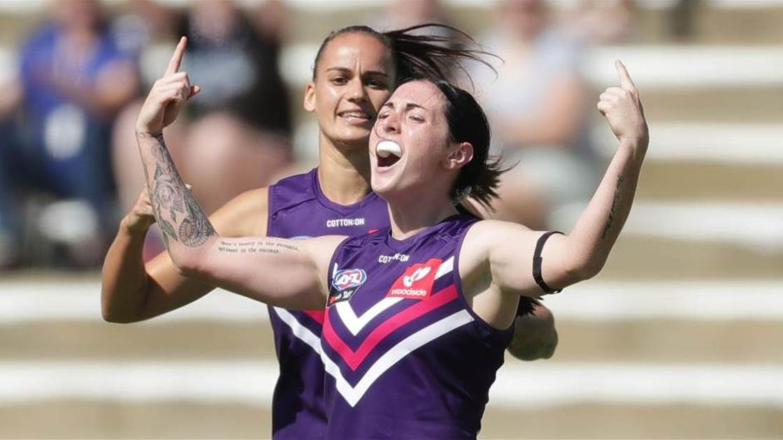 AFLW Young Guns Countdown: No. 7 Sabreena Duffy