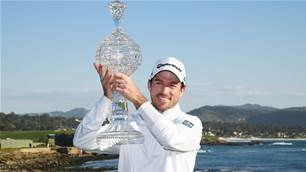 Taylor claims Pebble Beach Pro-Am