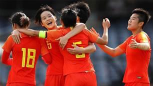 China belt Taiwan, reach Olympic playoff
