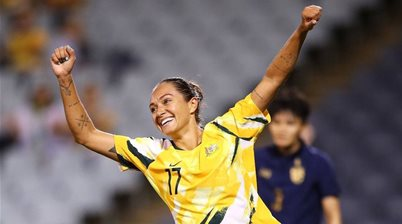 Matildas striker moves to Dutch giants