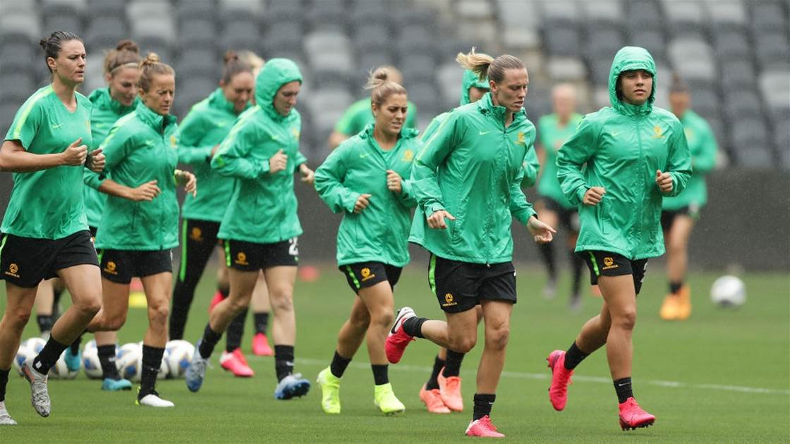 Matildas land in Tokyo with a very different climate