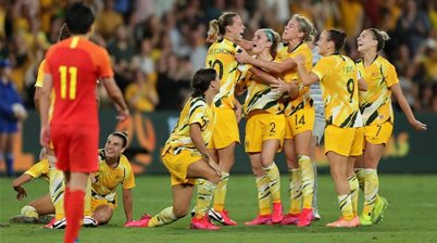 Matildas salvage draw in Olympic qualifier