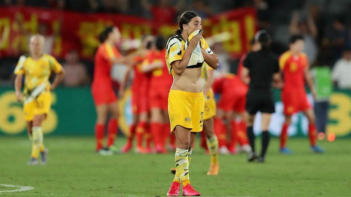 Matildas Player Ratings vs China