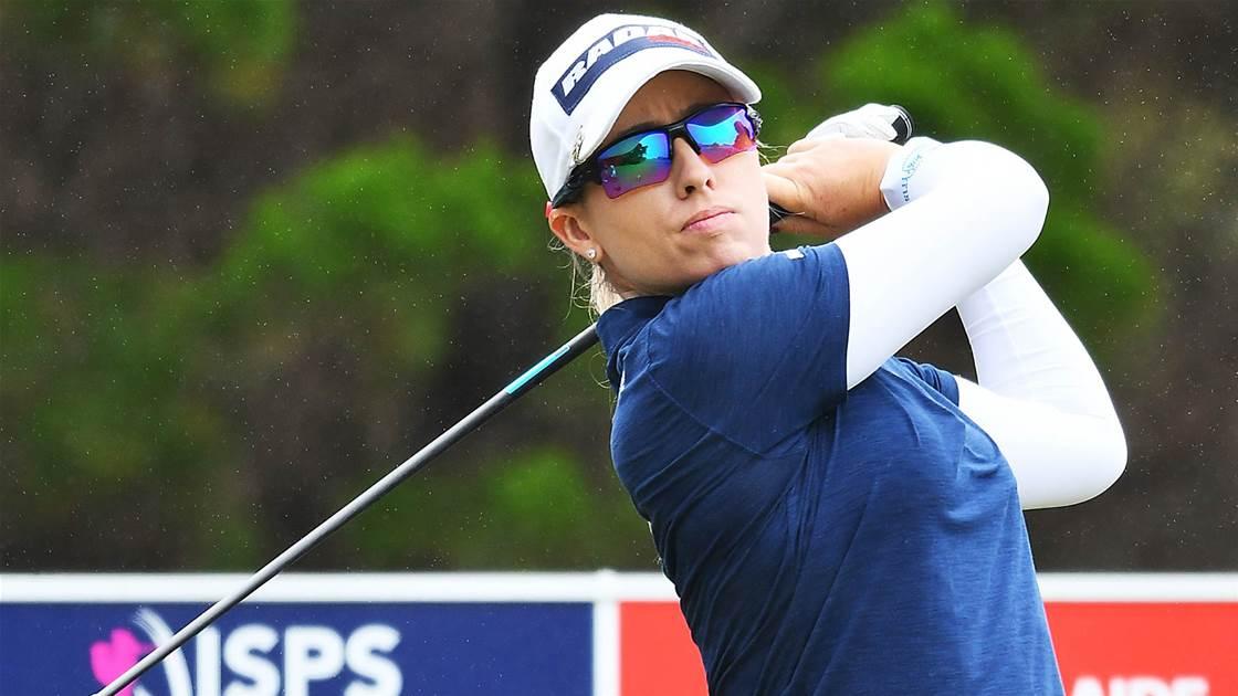 Ewart Shadoff & Park share Open lead