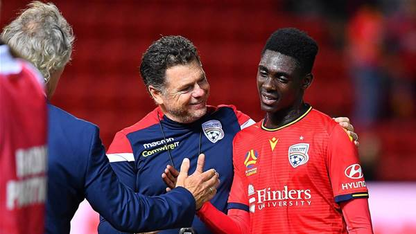 Verbeek's words inspire teenage star Toure