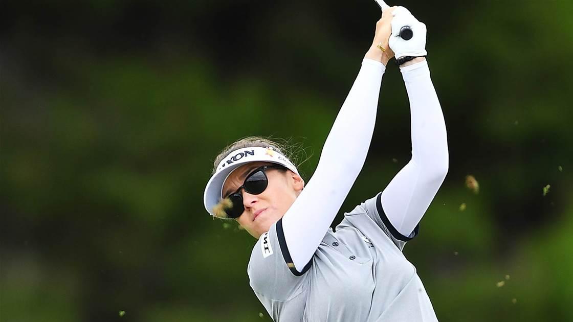 Green lags behind Australian Open leaders
