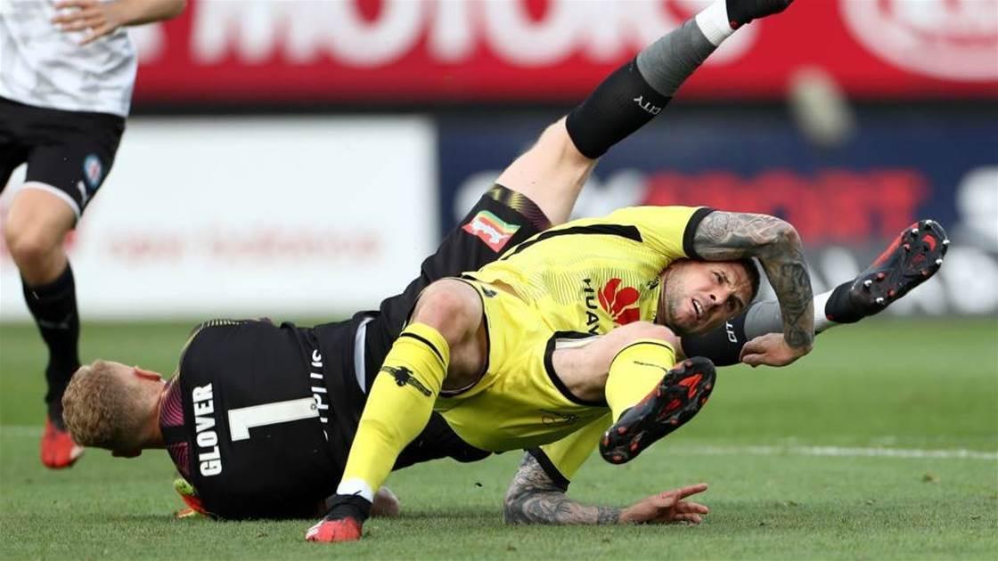 Wellington's star striker out