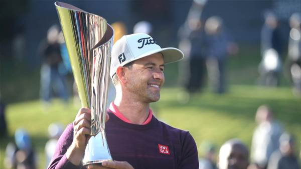 Adam Scott snaps PGA Tour title drought