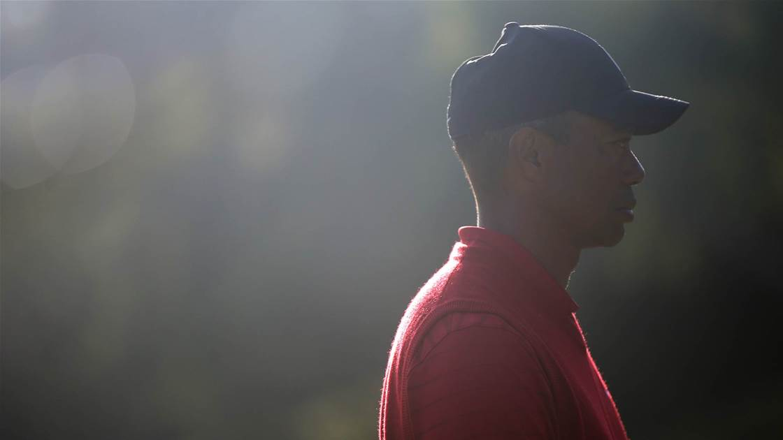 People trump golf postponements, says Tiger