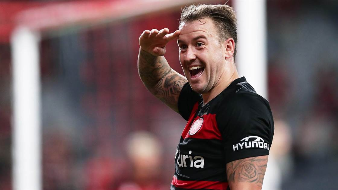 Wanderers smash Adelaide 5-2 in A-League