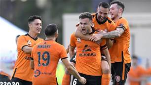 Roar break Glory hearts in A-League again
