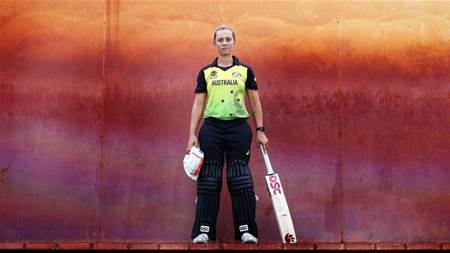 Batting for my culture: Gardner's role model for Indigenous Australians