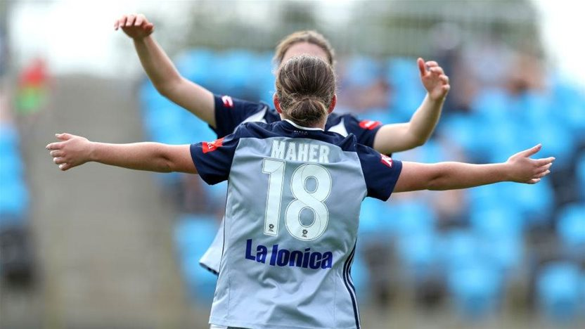 Victory's record W-League win, Jets crash