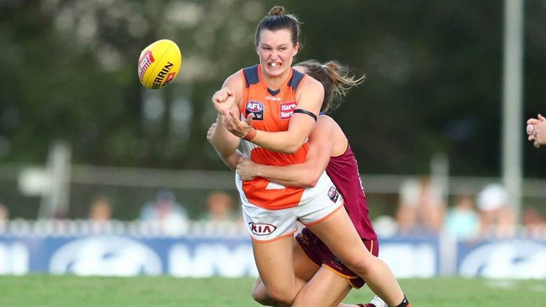 AFLW Young Guns Countdown: No. 2 Alyce Parker