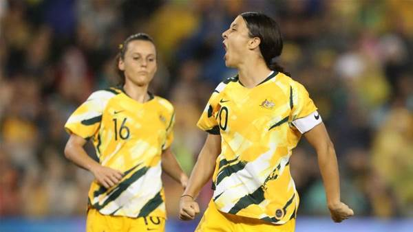'We knew': Passionate Kerr stars in feisty Matildas win