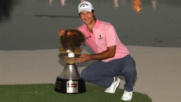 Campillo holds nerve for Qatar playoff win