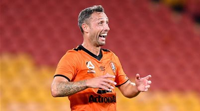 'A little bit of luck with the goal...' McDonald fires Roar to win over Mariners