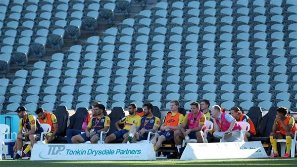 No fans, no worries for A-League