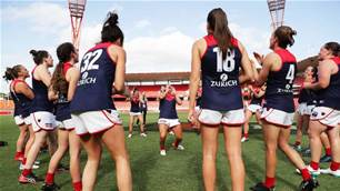 AFLW's Demons are developing a serious development problem
