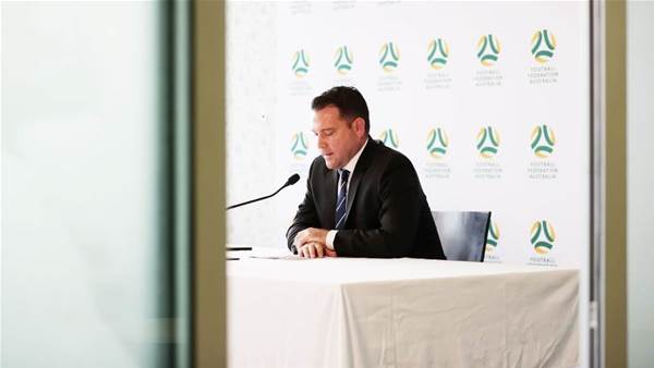 Historic Australian football year 'blown to bits': FFA