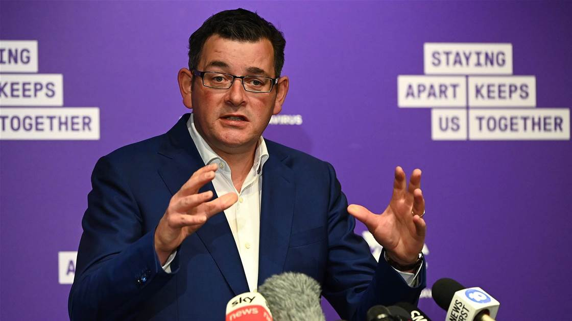 COVID-19 update: Daniel Andrews lifts Victorian golf ban