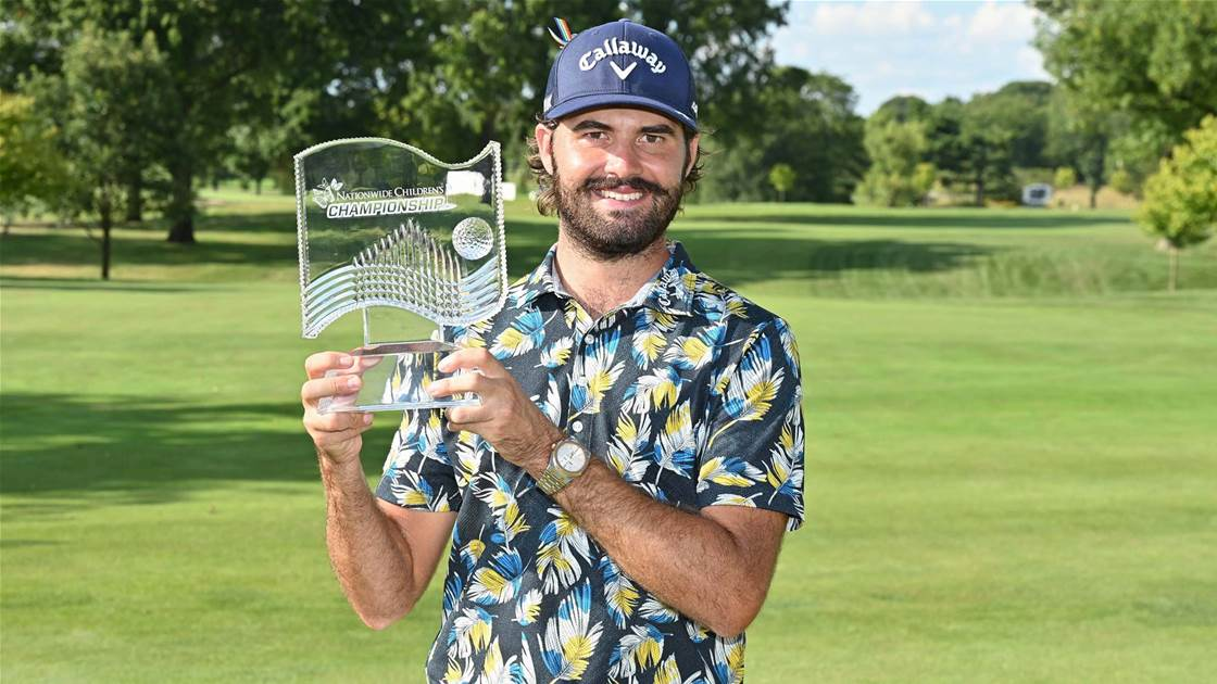 Luck laps up maiden Tour title