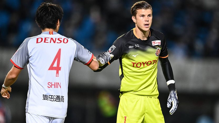 'It is not just about me...' - Socceroos keeper sets new J.League record