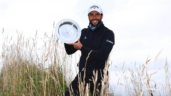 Otaegui fires to win Scottish Championship