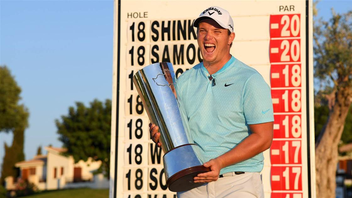 Shinkwin claims maiden victory at Cyprus Open