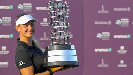 Pedersen wins Saudi title, Kyriacou shines