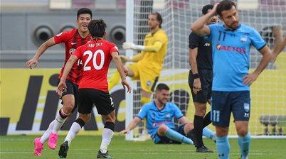 Mooy stars as Shanghai beat Sky Blues