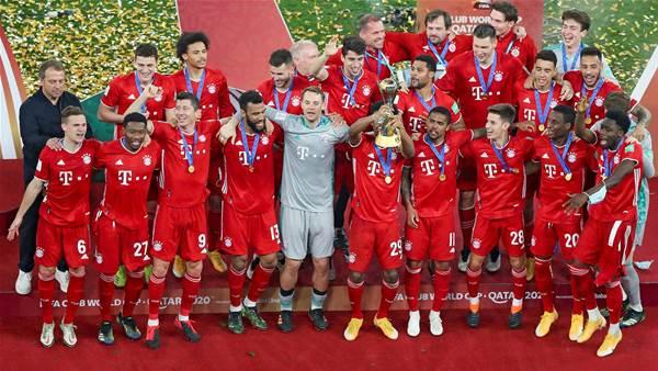 World kings Bayern make it six of the best