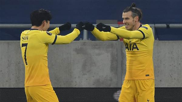 Man Utd, Spurs enjoy rampant Europa wins