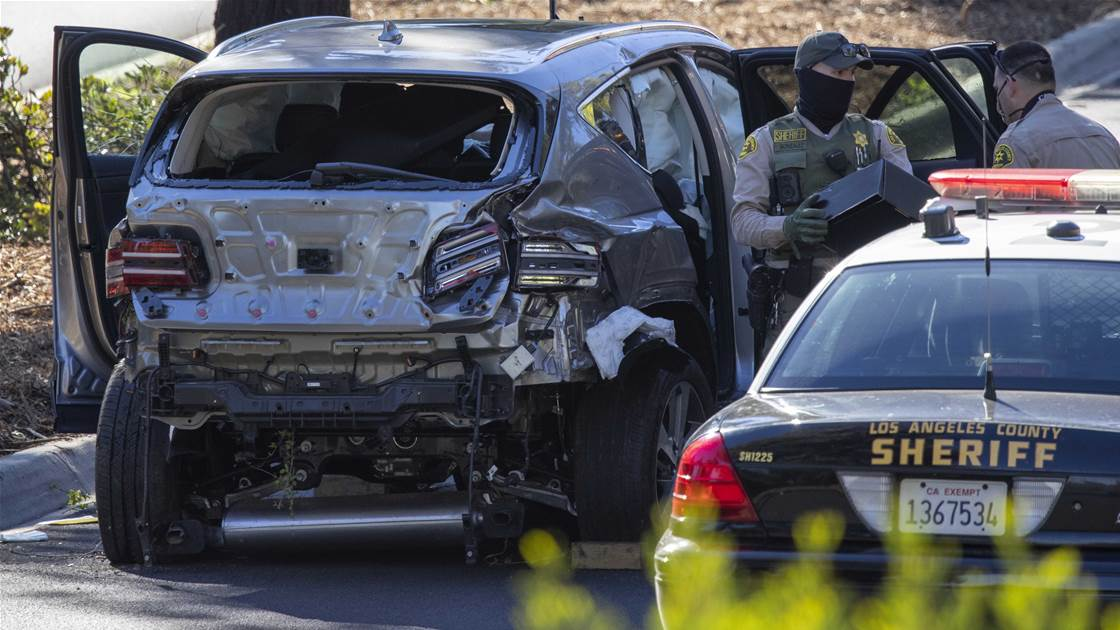 Woods crash probe ends, findings withheld